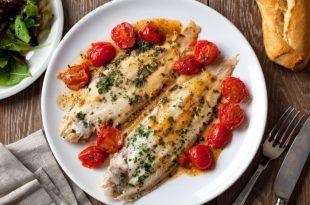ארוחת דגים טעימה