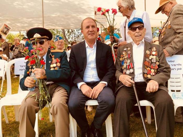 ותיקי מלחמת העולם השנייה קיימו את מצעד הווטרנים באשדוד