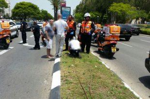 שלושה פצועים בתאונה בין מס' כלי רכב באשדוד