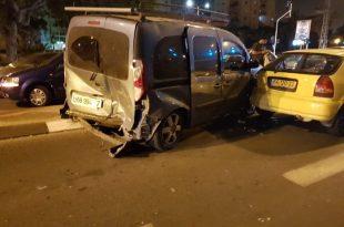 4 פצועים בתאונה שארעה הלילה