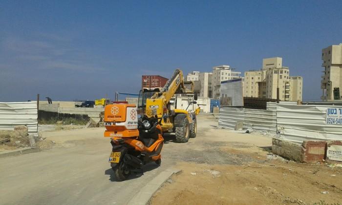תאונת עבודה קשה באתר בנייה באשדוד