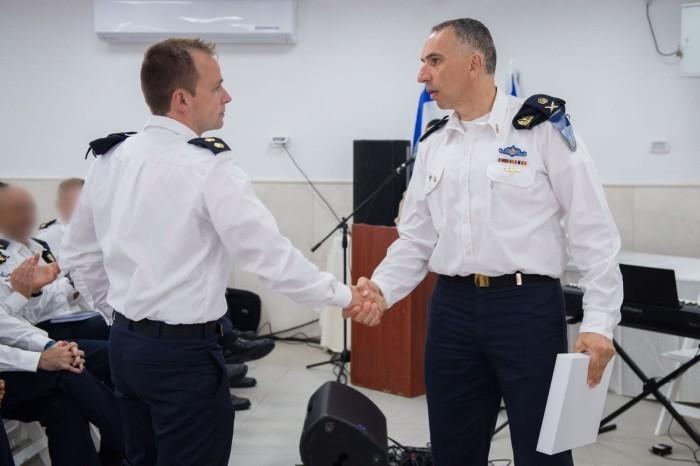 תעודות הערכה לפלגת 916 מבסיס חיל הים אשדוד