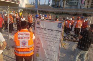 כך מתכוננים לרעידת אדמה בעיר אשדוד