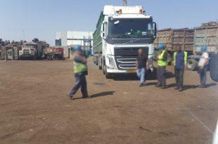 משאית פגעה בהולך רגל באזור התעשייה באשדוד - כוחות ההצלה במקום