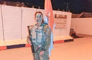 """כבוד: האשדודית מחטיבת החילוץ וההצלה של צה""""ל"""