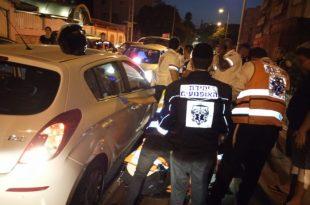 בן 70 נפגע מרכב