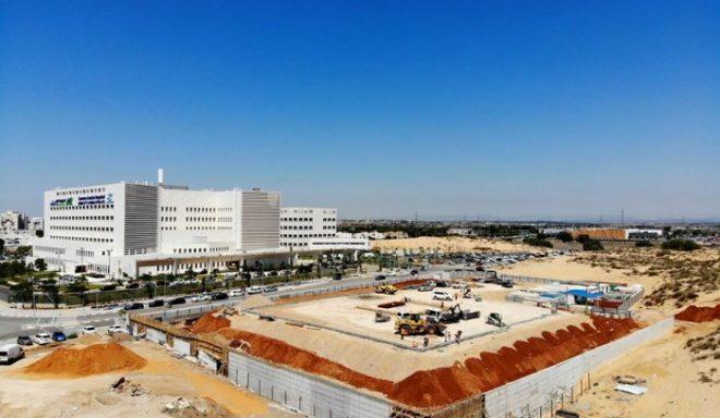 מנחת מסוקים חדש נבנה באסותא אשדוד - צפו