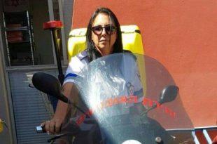 רוכבת האופנוע מאשדוד שמצילה חיים