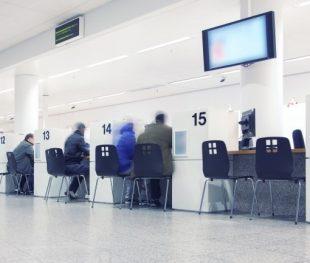 ביטוח לאומי באשדוד-אנשים ממתינים