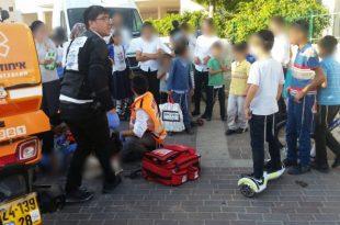 פציעה קשה לילד בן 5 שנפגע בתאונת דרכים באשדוד
