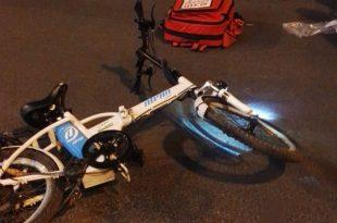 פציעת ראש קשה לנערה שרכבה על אופניים חשמליים בעקבות פגיעת רכב