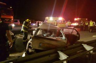במהלך הלילה: תאונה קשה בכביש אשדוד - אשקלון