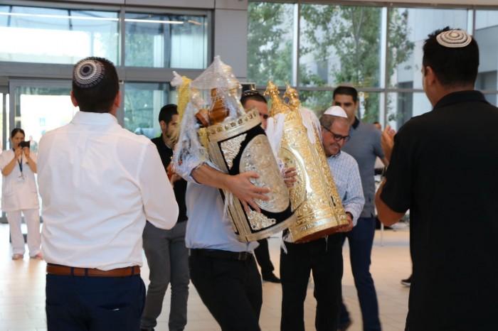 נחנך בית הכנסת בבית החולים אסותא אשדוד
