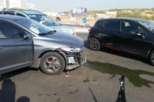 תאונה כפולה: 4 פצועים מתוכם ילדים בשתי תאונות שהתרחשו באותו הרחוב