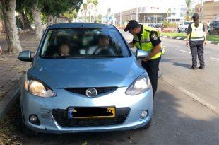 ההפתעה שחיכתה לנהגים באשדוד ממשטרת התנועה