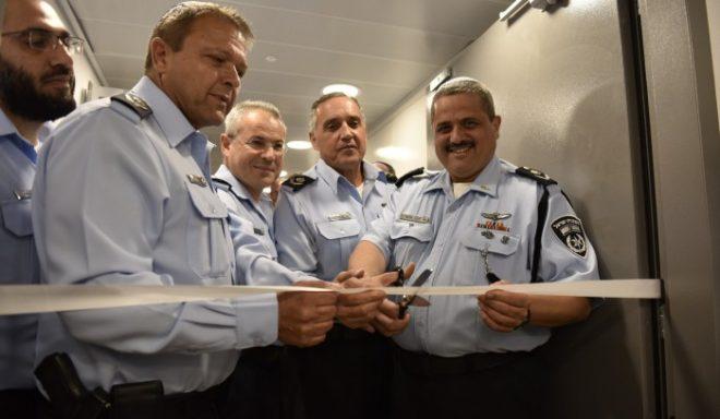 """בהשתתפות המפכ""""ל נערך טקס חניכת 'הרצף המודיעני' במחוז הדרומי של משטרת ישראל"""