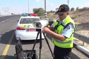 צפו: המצלמה החדשה של משטרת התנועה שיודעת עליכם הכל