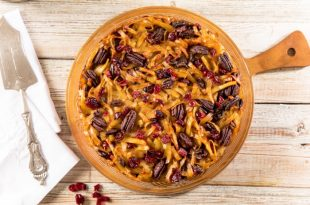 מאפה קיגל עם חמוציות ברוטב קרמל מאת מאסטר שף