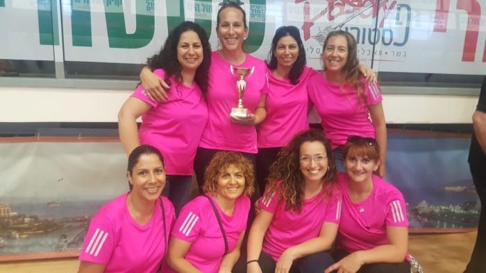 נבחרת הנשים בכדורשת של נמל אשדוד זכתה בספורטיאדה באילת