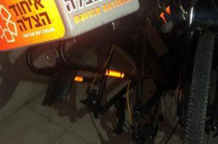 גנבו את האופניים של מתנדב איחוד הצלה