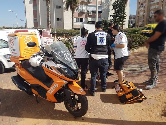 פצוע בינוני באירוע דקירות באשדוד