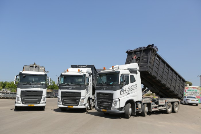 משאית פינוי פסולת