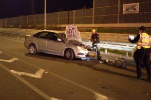 תאונה עם ארבעה פצועים בינהם אחד קשה סמוך לאשדוד