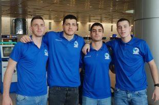 """שחקני אשדוד """"מפרוייקט גרמניה"""" בכדוריד, הגיעו לחופשת מולדת"""