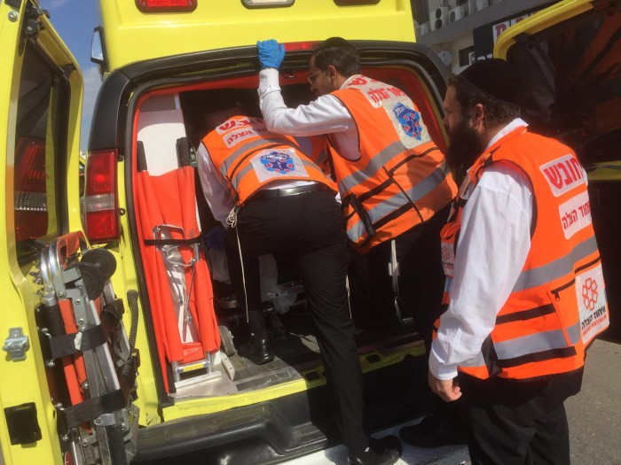 אצבעות רגליו של פועל נקטעו בתאונה קשה שהתרחשה באשדוד