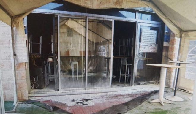תושב אשדוד ניסה להצית פאב מוכר באזור התעשייה