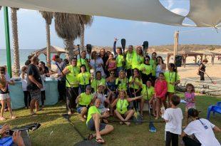 15 מדליות בתחרות סאפ לחותרי אשדוד