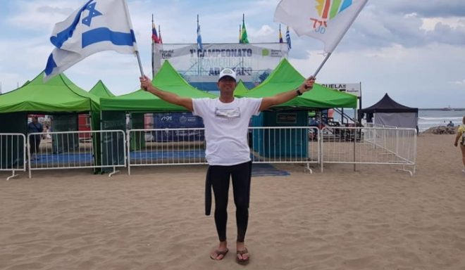 עדי קלנג סיים שני באליפות דרום אמריקה בגלישה לאנשים עם מוגבלות