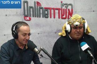 צפו בוידאו: אפי הנמר הגיע לחגוג יום הולדת בתוכנית הספורט של אשדוד