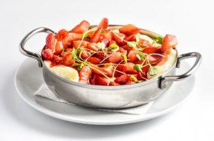קינוח טעים ומנצח: תותים מסקרפונה