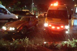 נהגים פצועים ועומסי תנועה בעקבות תאונת דרכים באשדוד