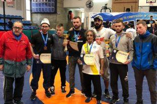 שתי מדליות מזהב ומארד למתאבקי הפועל אשדוד באליפות ישראל