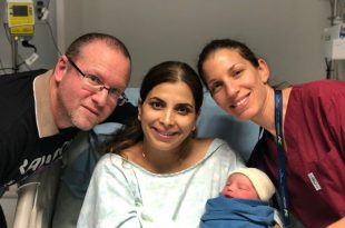 התינוקות שנולדו בשעות הראשונות של 2019 באסותא אשדוד