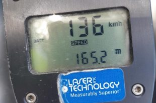 """צעיר מאשדוד נתפס כשהוא נוסע במהירות של 136 קמ""""ש"""