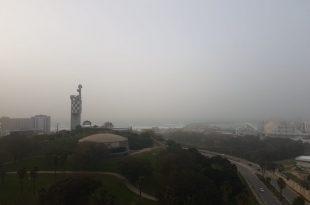 בשל סופות אבק: זיהום אוויר חריג באשדוד