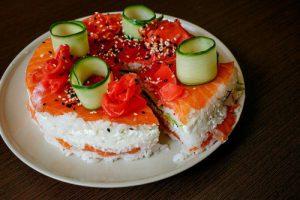עוגת סושי - ברמה של סושי ברים נחשבים