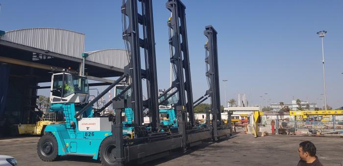 שלוש שבדיות ענקיות הגיעו לנמל אשדוד