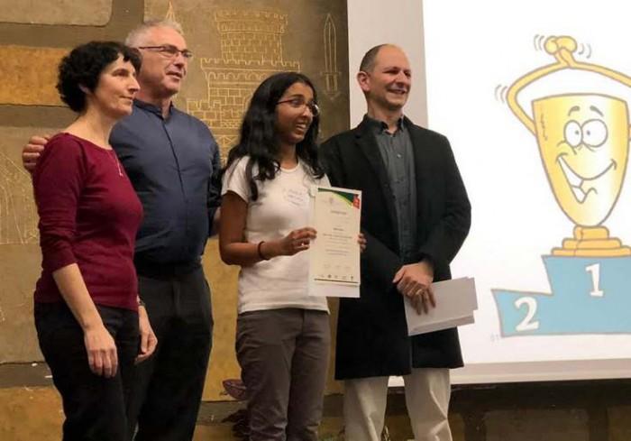אולימפיאדת הביולוגיה בבר-אילן: נחמיה בת 16 מאשדוד