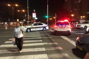 דרמה גדולה בסיטי - ניידות משטרה רבות הוזעקו בעקבות אירוע פלילי