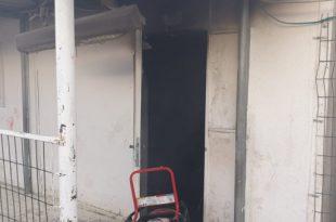 שריפה פרצה בקראוון המשמש ללימוד ילדים קטנים