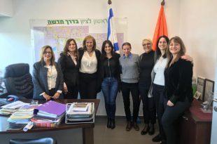 """מפגש למידה בין עיריית אשדוד לעיריית ראשל""""צ בנושא העצמת נשים"""