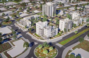 חברת צרפתי שמעון מכרה 75% מהדירות בשלב ב' בפרויקט באשקלון