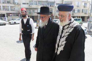 """תחפושת מקורית לראש המועצה הדתית הרב עובדיה דהן - """"הראשון לציון"""""""