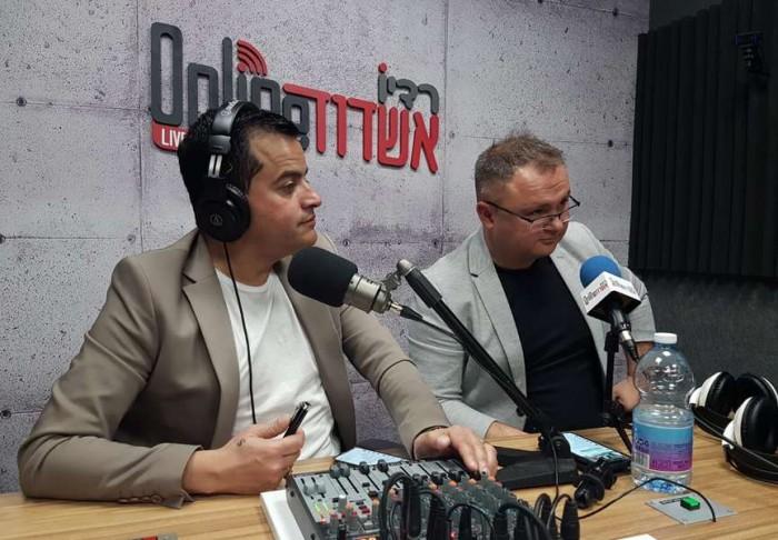 סמיון גרפמן בתוכנית הבוקר של שי מלול ברדיו אשדוד אונליין