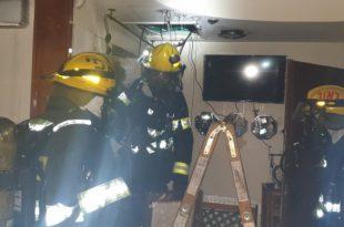 לפנות בוקר: שריפה פרצה בדירה בעיר. בעלי הדירה מנעו אסון
