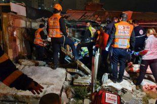 בלון גז התפוצץ ברחוב מרטין בובר, פצוע אנוש במקום
